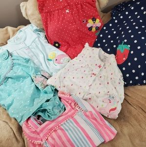 Carters 9 month set of 6